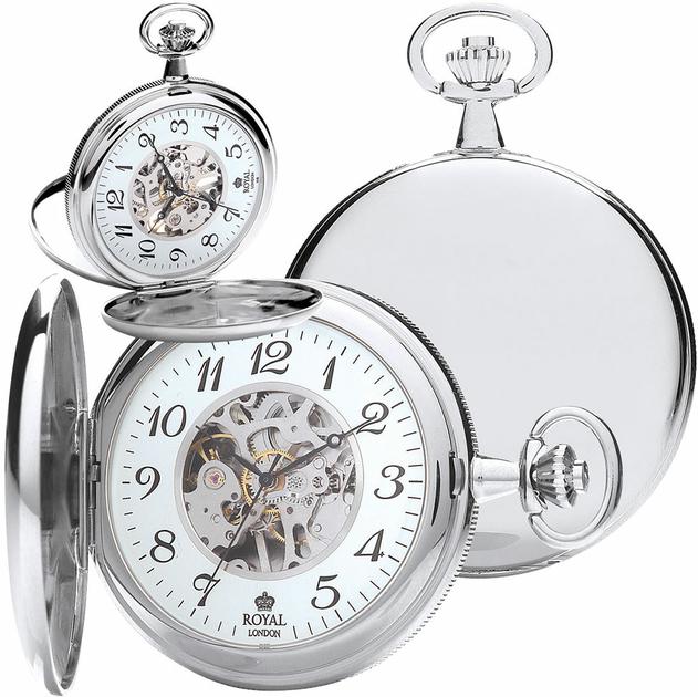 montre gousset mécanique - royal london - 90004-02