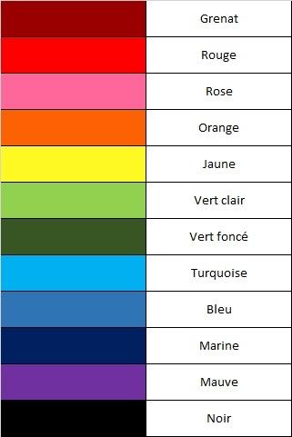 couleur résine wizishop
