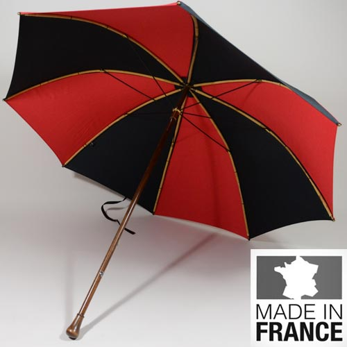 Parapluie des Pyrénées Le Berger noir et rouge