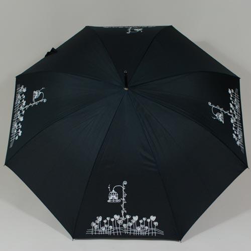 Parapluie avec imprimé réactif L\'Oiseau en cage