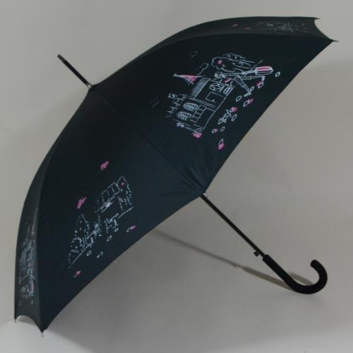 Parapluie imprimé L\'Esquisse noire