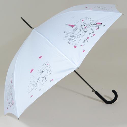 Parapluie femme blanc L\'Esquisse
