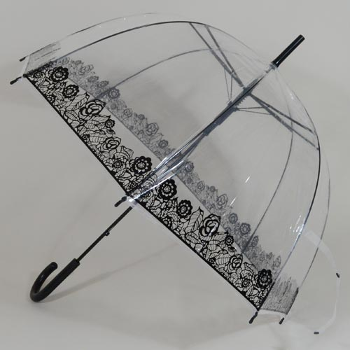 Parapluie transparent Bubble Flowers