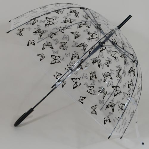 Parapluie transparent Bubble Butterfly