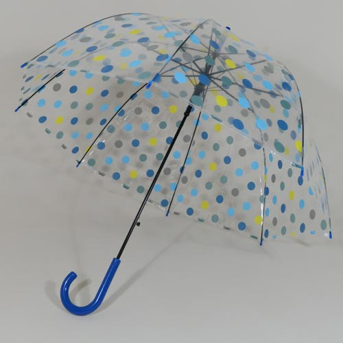 Parapluie transparent Blue Dots