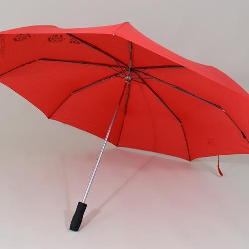 Parapluie de Trekking rouge