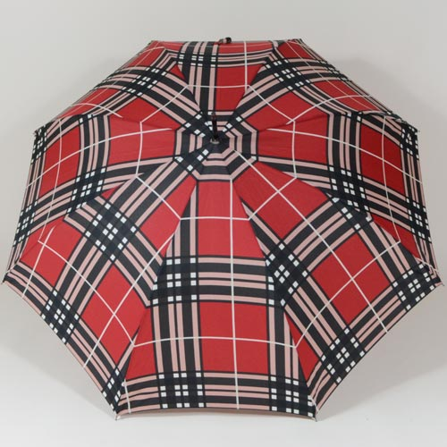 Parapluie à carreaux style anglais