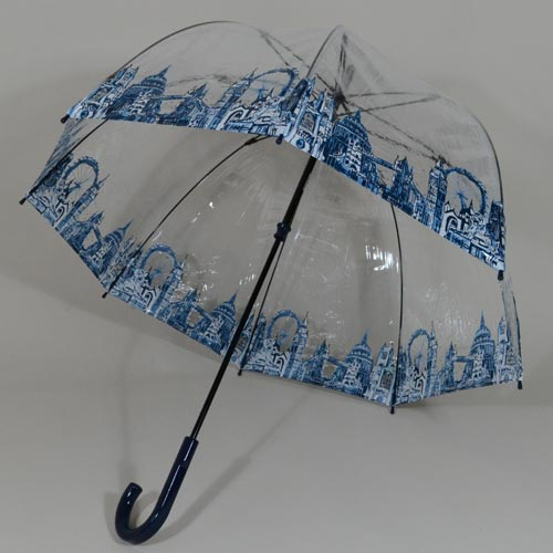 Parapluie transparent Birdcage London Icons