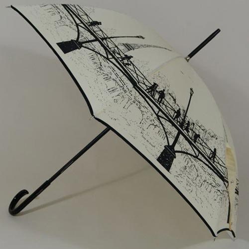 Parapluie original Pont des Arts Paris