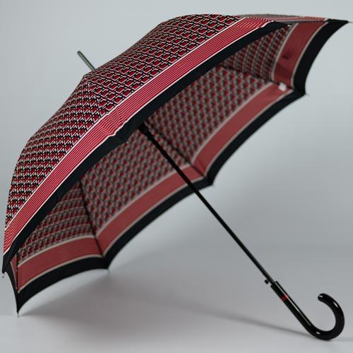 Magnifique parapluie Cardin rouge