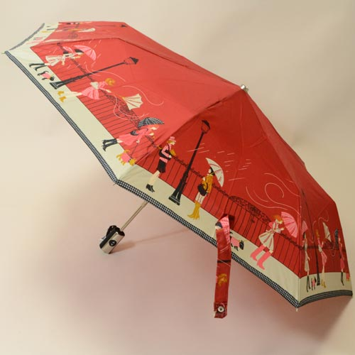 Parapluie pliant Tempête rouge