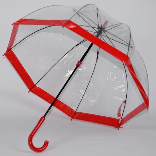 parapluie cloche rouge 4