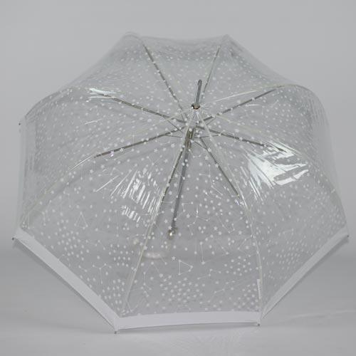 Parapluie mariage Starry Sky white