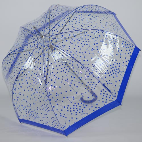 parapluie cloche bleu 2