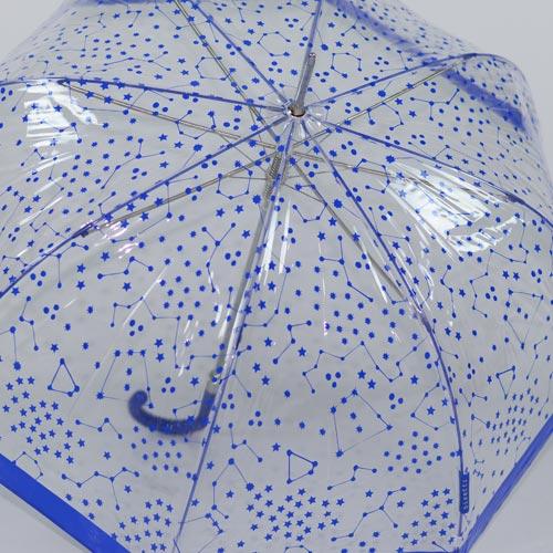 parapluie cloche bleu 5