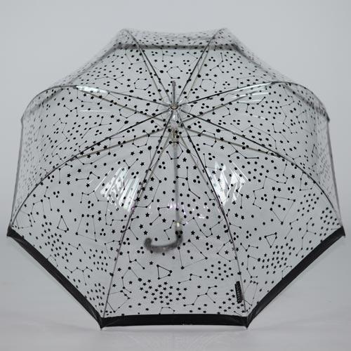 parapluie transparent noir 4