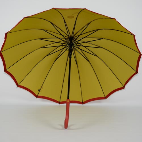 parapluie résistant femme holi jaune 2