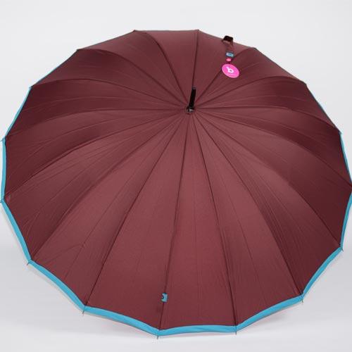 Grand parapluie femme Holi chocolat