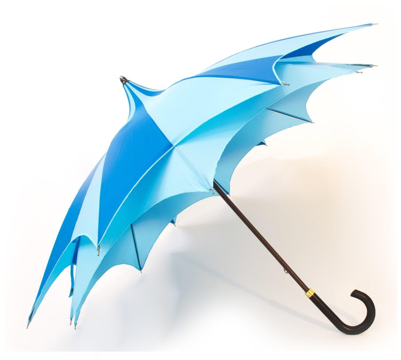 Parapluie d\'Amazoni double toile bleu