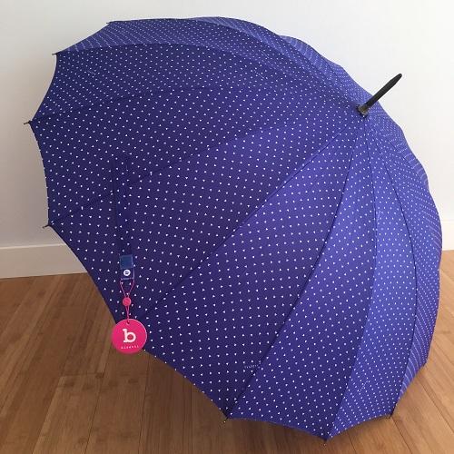 parapluie étoile bleu 2
