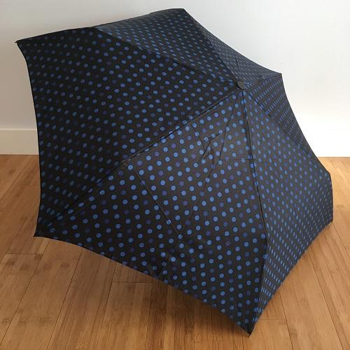 Parapluie pliant fultec bleu
