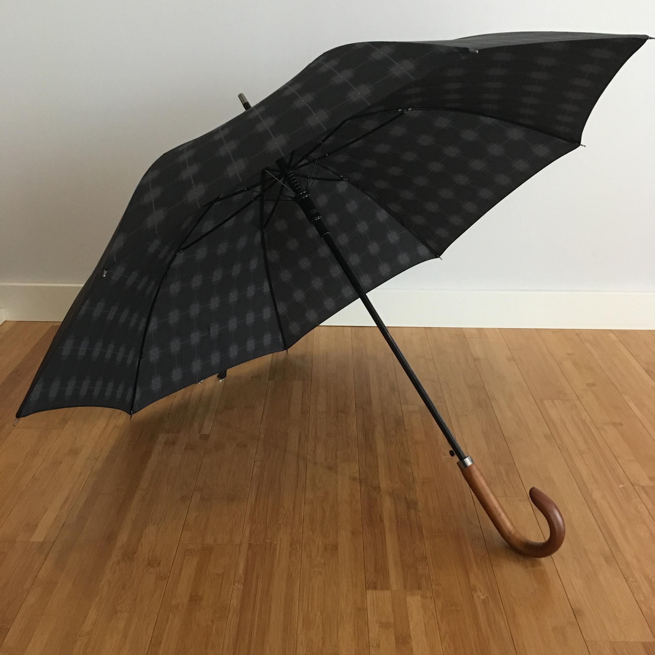 Parapluie homme style Voltaire