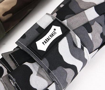 Parapluie automatique camouflage gris