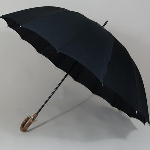 Parapluie grande taille Doorman noir