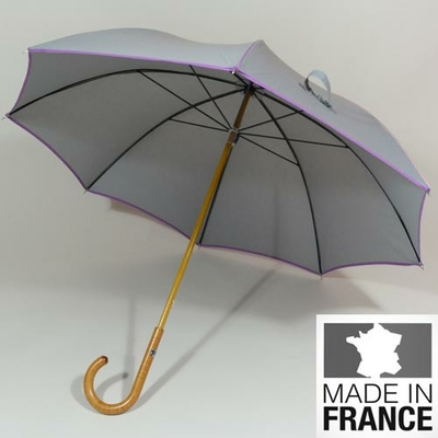 Parapluie de fabrication française L'Eternel gris