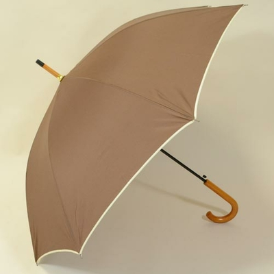 Parapluie automatique Brown Wood