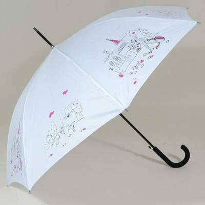 Parapluie femme blanc L'Esquisse
