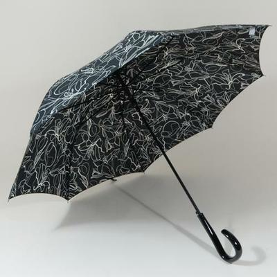 Parapluie élégant noir
