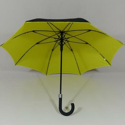 Parapluie droit femme citron