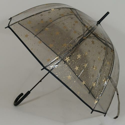 Parapluie transparent Bubble Stars
