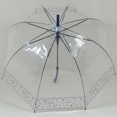 Parapluie transparent Bubble Marin