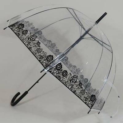 Parapluie transparent Bubble Flowers
