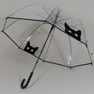 Parapluie transparent Bubble Cats