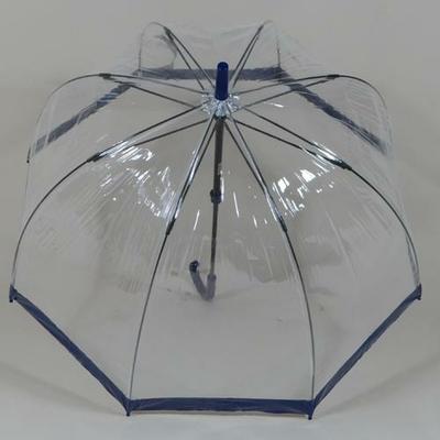 Parapluie transparent Birdcage navy