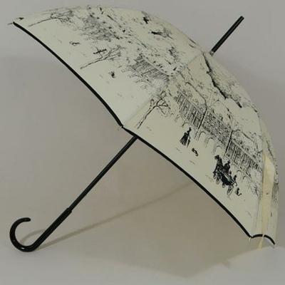 Parapluie inspiré par la Place des Vosges du Paris 1900