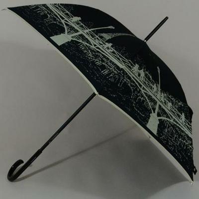Parapluie chic Pont des Arts Paris