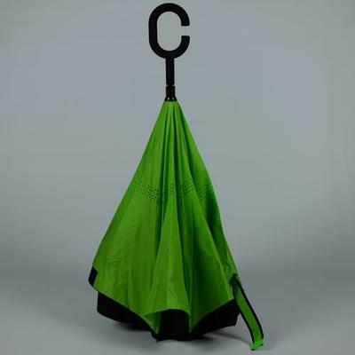 Parapluie très solide à ouverture inversée