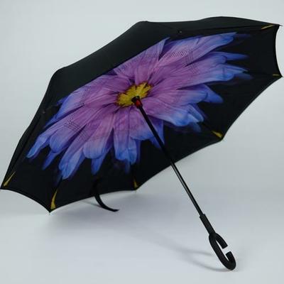 Parapluie à poignée crochet