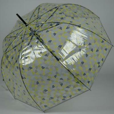 Parapluie transparent cloche Limeade