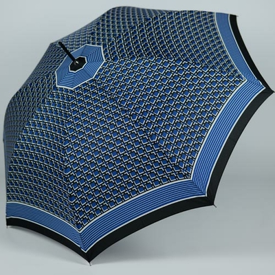 Parapluie bleu collection Pierre Cardin