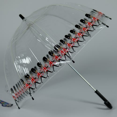 Parapluie enfant transparent Birdcage Guards