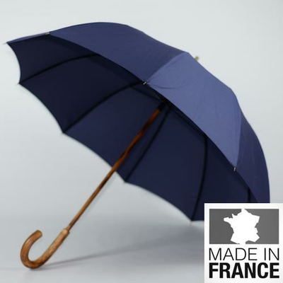 Parapluie français Berger bleu