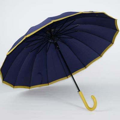 Parapluie canne femme Holi bleu