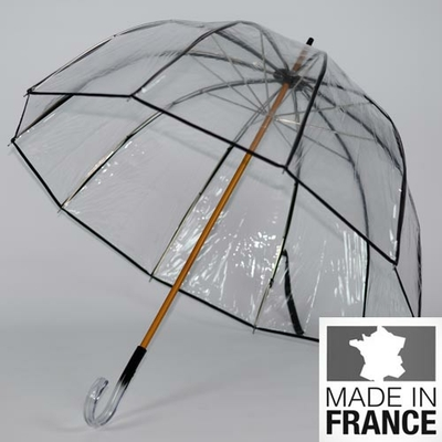 Parapluie en cloche transparent L'invisible