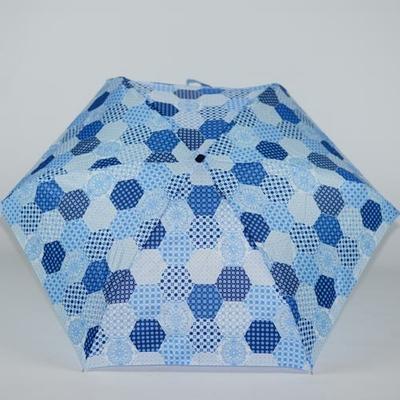 Petit parapluie bleu Moroccan Tiles