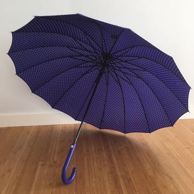 Parapluie solide à 16 baleines